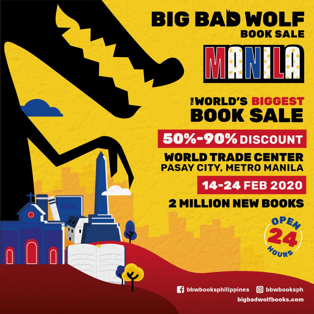 Big Bad Wolf heads to the Philippines. 2 million books in a 24/7 11-day mega-sale - The New Publishing Standard